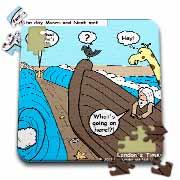 Noah Meets Moses  Puzzle
