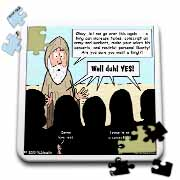 1st Samuel 8 1 22 What Could Go Wrong Bible kings people problems Puzzle