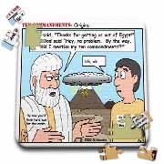 Ten Commandments, Origins Puzzle