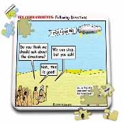 Ten Commandments, Following Directions Puzzle