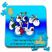 Larry Miller - Swan-Mart Gift Cards Puzzle