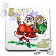VAL Cartoon about Gift Card Giving for Christmas Puzzle