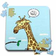 Giraffe Foraging Foibles - wanting a truffle Puzzle