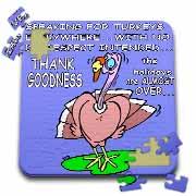 Ira Monroes Grateful Holiday Turkey Puzzle