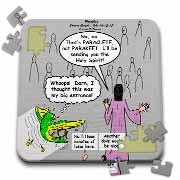 John 16 12 - 15 Jesus discusses sending paraclete which confuses a parakeet Puzzle