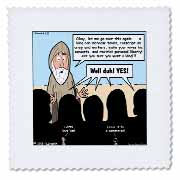 1st Samuel 8 1 22 What Could Go Wrong Bible kings people problems Quilt Square