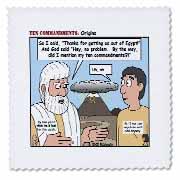 Ten Commandments, Origins Quilt Square