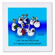Larry Miller - Swan-Mart Gift Cards Quilt Square
