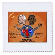 The problems with change ala Carter and Obama Quilt Square