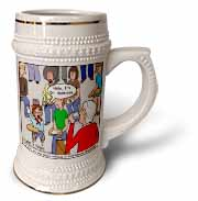 Ventriloquism University  Stein Mug