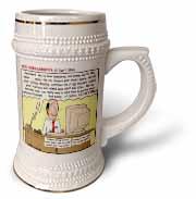 Ten Commandments 8 Dont Steal Stein Mug