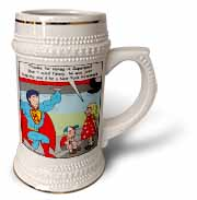 9-11 Tribute to Firefighters Stein Mug