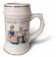 Sand Registry Stein Mug