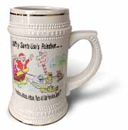 Kevin Edler, Why Santa Uses Reindeer  Stein Mug