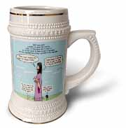 Mark 04-26-34 Jesus and the Beanstalk - Teaching Ad Lib Stein Mug