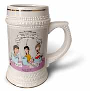 Mark 06-14-29 How To Get a Head in Life - Herodias and the Bad Menu Order Stein Mug