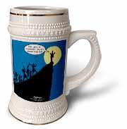 Luke 4-21-30 - A Cliffhanger Stein Mug