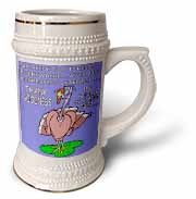 Ira Monroes Grateful Holiday Turkey Stein Mug