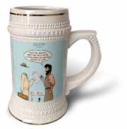 John 15 26 - 16 15 The advocate appears to Peter Stein Mug