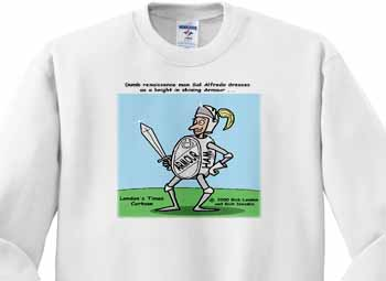 Knight In Shining Armour Meats Sweatshirt