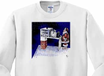 VAL - Santa Security Checkpoint Sweatshirt