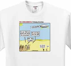 Ten Commandments, Following Directions T-Shirt
