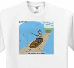 Fishing with God T-Shirt