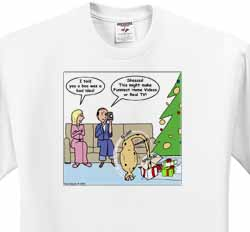 Bad Christmas Present Idea - Funniest Home Videos T-Shirt