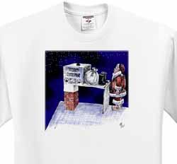 VAL - Santa Security Checkpoint T-Shirt