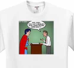Regular 8 Hotel vs. Super 8 Hotel T-Shirt