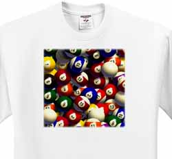 Billiard Balls Pool T-Shirt