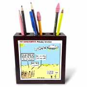 Ten Commandments, Following Directions Tile Pen Holder