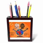 The problems with change ala Carter and Obama Tile Pen Holder