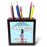 Mark 04-26-34 Jesus and the Beanstalk - Teaching Ad Lib Tile Pen Holder