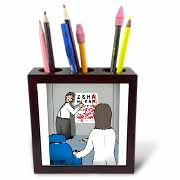 Eye Chart Word Search - Visit to the Eye Doctor Tile Pen Holder