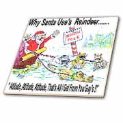 Kevin Edler, Why Santa Uses Reindeer  Tile