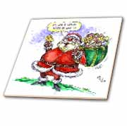 VAL Cartoon about Gift Card Giving for Christmas Tile