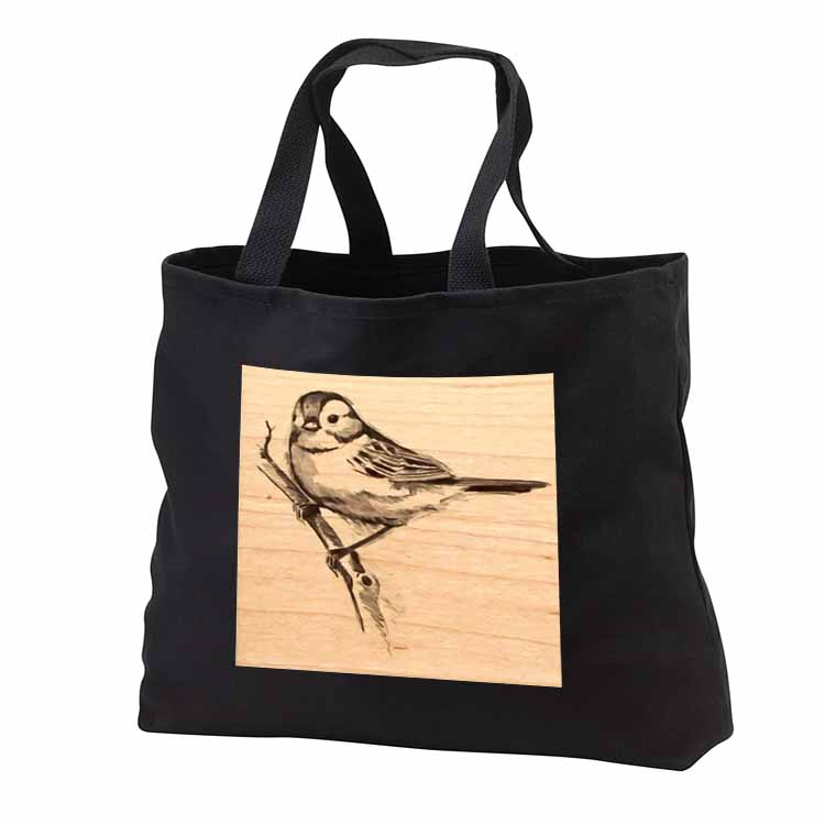 Bluebird on a Branch Tote Bag