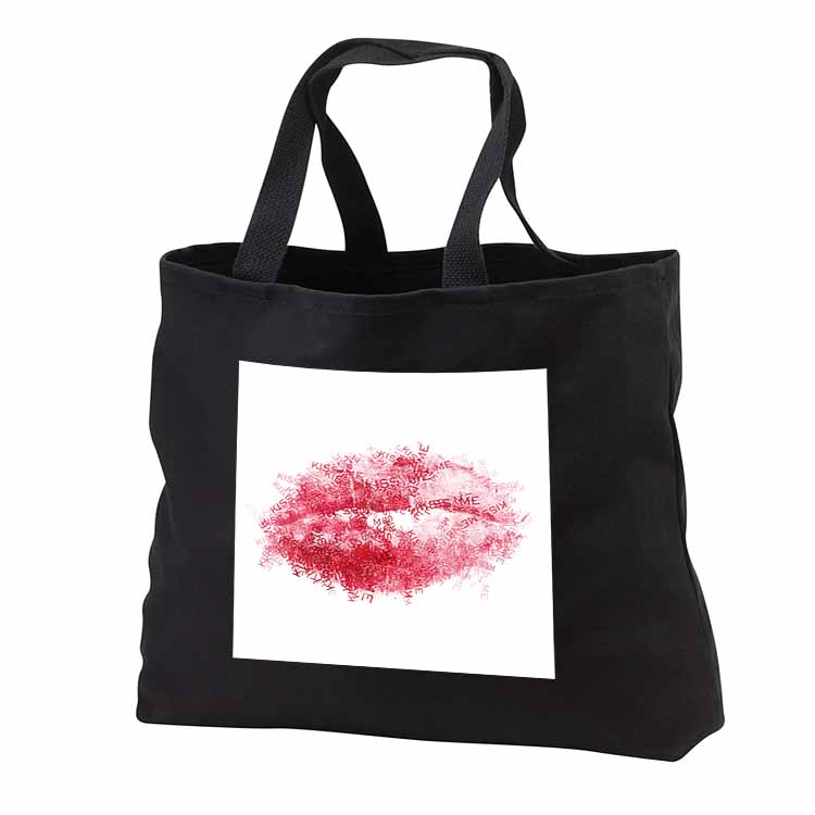 Kiss Me Lips Tote Bag