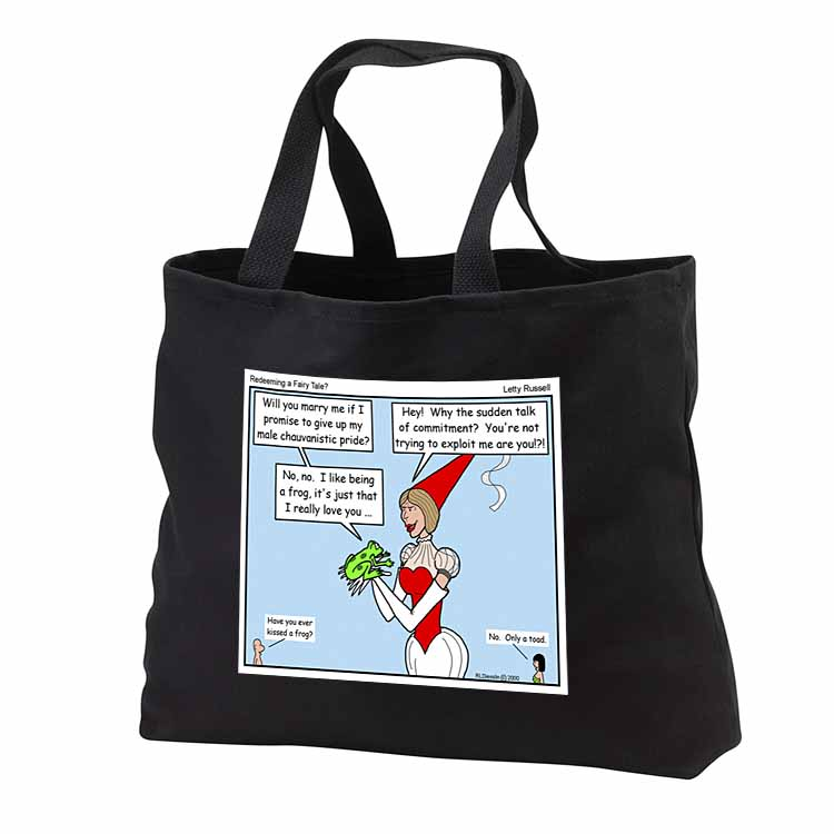 Russell - Redeeming a Fairy Tale Tote Bag