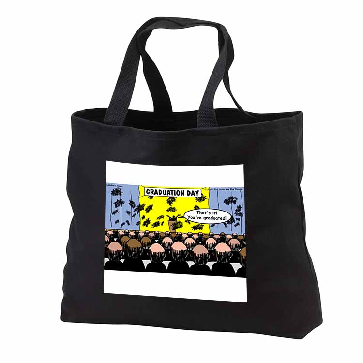 Graduation Day at the Hair Club for Men Tote Bag