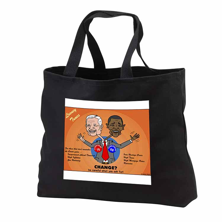 The problems with change ala Carter and Obama Tote Bag