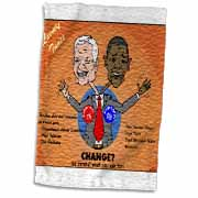 The problems with change ala Carter and Obama Towel