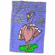 Ira Monroes Grateful Holiday Turkey Towel