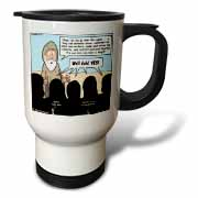 1st Samuel 8 1 22 What Could Go Wrong Bible kings people problems Travel Mug