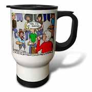Ventriloquism University  Travel Mug