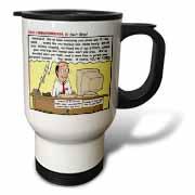 Ten Commandments 8 Dont Steal Travel Mug