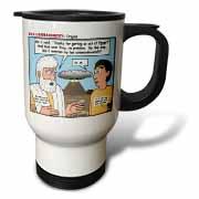 Ten Commandments, Origins Travel Mug