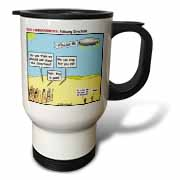 Ten Commandments, Following Directions Travel Mug