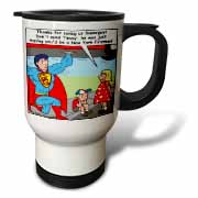 9-11 Tribute to Firefighters Travel Mug